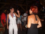 Vicky and Carole dancing
