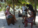 Belize Lifestyles filming