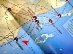 Tropic Air Belize map