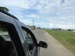 Jeep ride through Dangriga to the boat dock