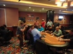 ESPN filming free roll poker tournament