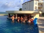 Swim up Pool Bar at Grand Caribe