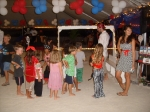 Kids loved limbo pole