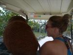 Rented golfcart
