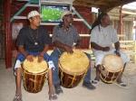 Garafuna drummers