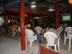 LIstening to Garifuna Drummers