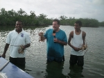 Lobster fishing with Elito Arceo