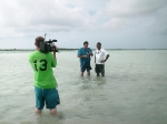 One Caribbean Weather filming in Belize