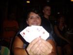 Helda happy with her Threes
