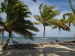 Beach at Sanbore Caye
