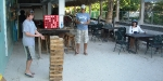Giant Jenga at Roadkill