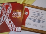 Certificate for Belize Red Cross