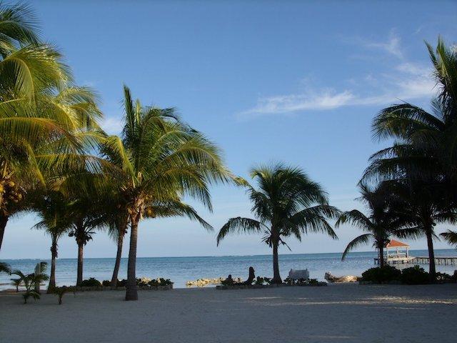 Beach near Caribbean Villas