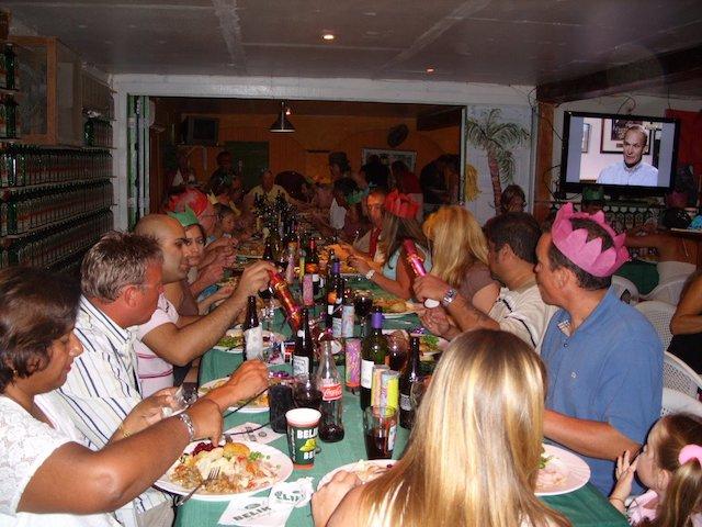 Pedro's Christmas party