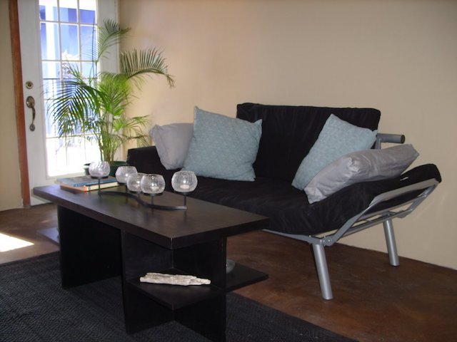 Couch in Black Orchid
