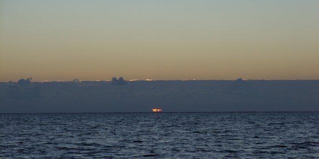 Sunrise at 5:40