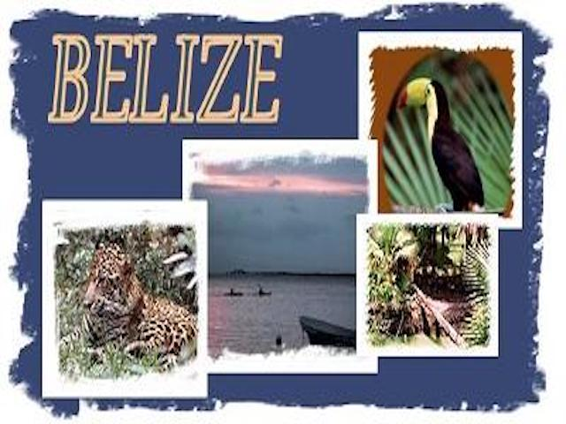 Belize in a picture