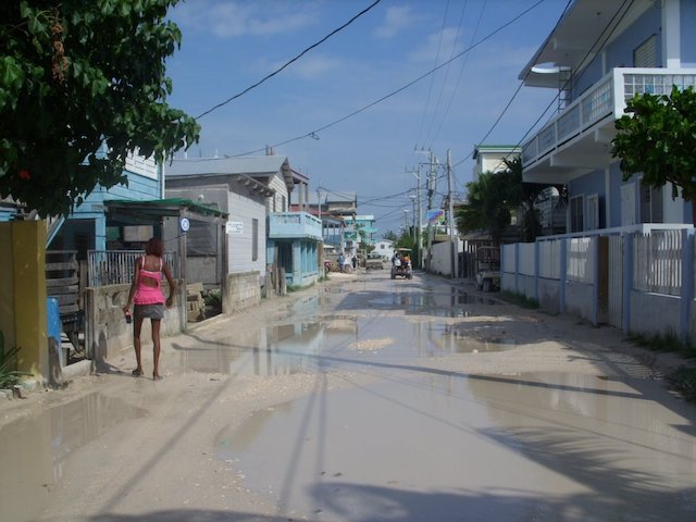 Boca Del Rio mucky road