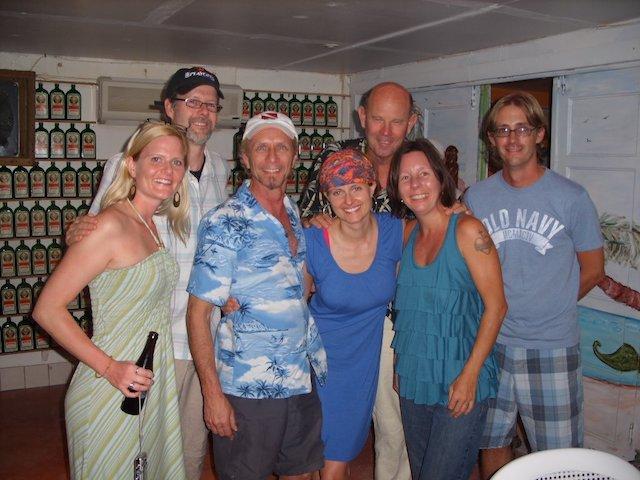 Group shot at Pedro's