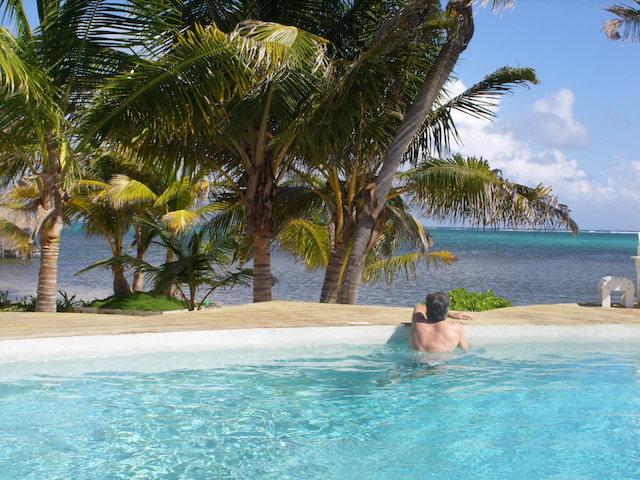 View from Portofino pool