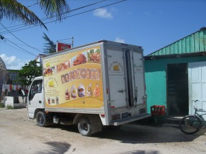quality chicken truck