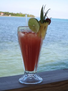 For those who like rum punch