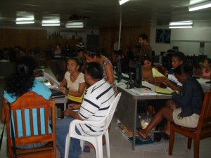 University of Belize teacher training at Holy Cross