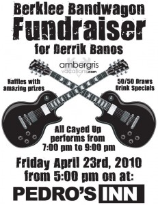 Berklee Bandwagon Fundraiser