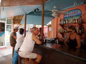 Island Perk - downtown San Pedro Belize