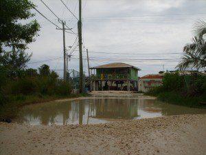 Tropical Storm Matthew Ambergris Caye Belize
