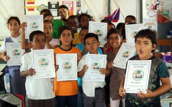 Holy Cross Anglican School Ambergris Caye Belize