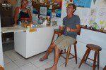 DandE's ice cream San Pedro Belize