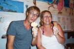 DandE's ice cream Ambergris Caye Belize