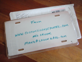 Auto Tags International, Promotional License Plates