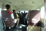 Inside Tropic Air Cessna Caravan