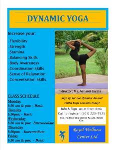 Ashanti airbender Garcia Royal Wellness Center Belize City