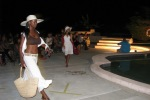 night pool party picture