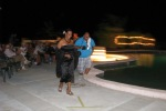 night pool party belize