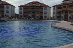 pool time at grand caribe resort