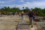 exploring Maya ruins belize