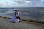belise beach wedding