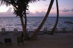 san pedro belize sunrise picture