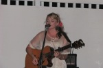 Karen Waldrup benefit concert at wet willys cantina san pedro