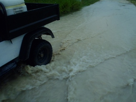rainfall in belize
