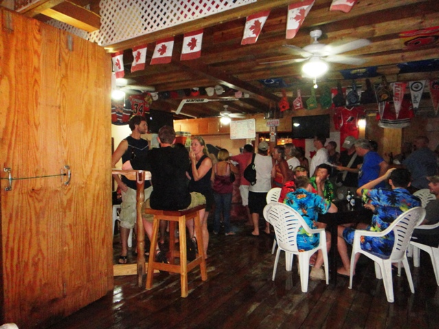 san pedro belize poker run