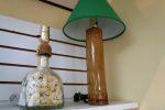 handmade bottle lamps