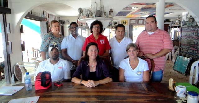 Congratulations and a big round of applause to new San Pedro Branch Belize Red Cross Board