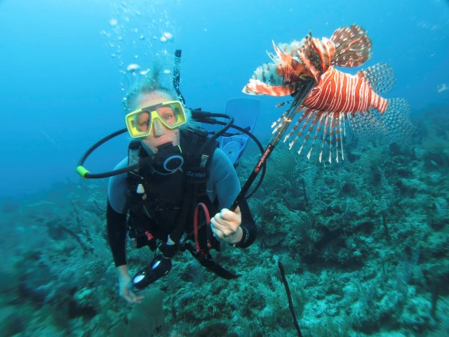 lionfish belize