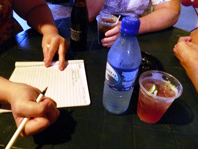 cazy canucks beach bar belize