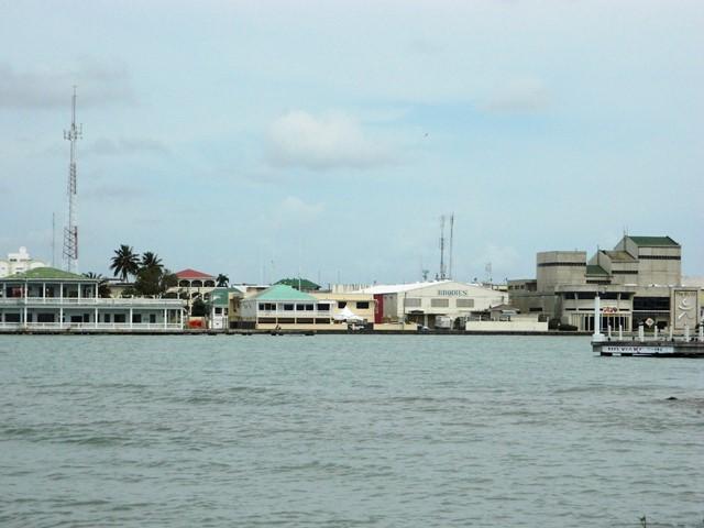 belize city waterfront